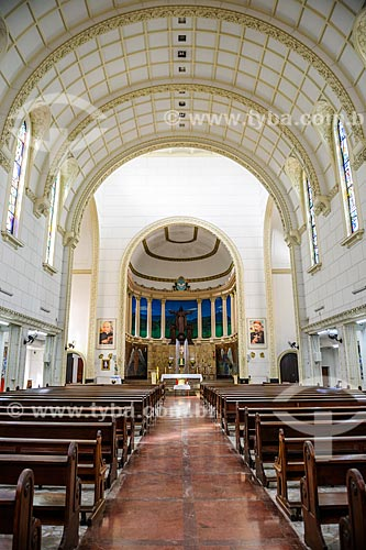 Interior da Paróquia Cristo Redentor (1948)  - Rio de Janeiro - Rio de Janeiro (RJ) - Brasil