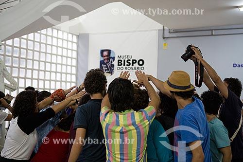 Performance artística no Museu Bispo do Rosário - na antiga Colônia Juliano Moreira  - Rio de Janeiro - Rio de Janeiro (RJ) - Brasil