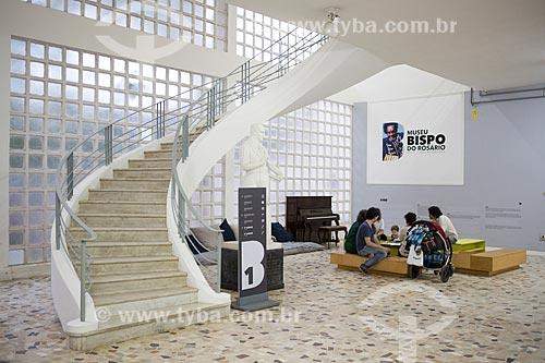 Interior do Museu Bispo do Rosário (1982) - na antiga Colônia Juliano Moreira  - Rio de Janeiro - Rio de Janeiro (RJ) - Brasil