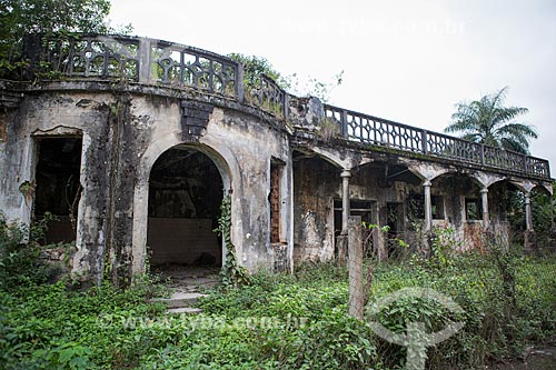 Antigo refeitório do Núcleo Rodrigues Caldas na antiga Colônia Juliano Moreira  - Rio de Janeiro - Rio de Janeiro (RJ) - Brasil