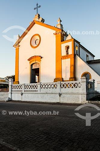 Fachada da Igreja da Nossa Senhora das Necessidades (1756)  - Florianópolis - Santa Catarina (SC) - Brasil