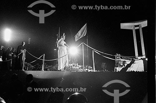 Missa com o Papa Joao Paulo II no Aterro do Flamengo  - Rio de Janeiro - Rio de Janeiro (RJ) - Brasil