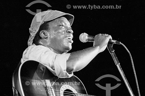Milton Nascimento durante o primeiro show na Praça da Apoteose  - Rio de Janeiro - Rio de Janeiro (RJ) - Brasil