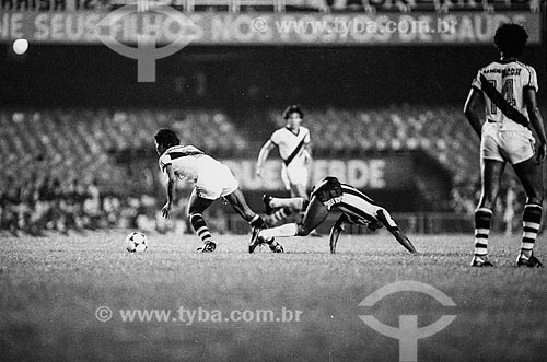 Roberto Dinamite durante jogo entre Vasco x Botafogo no Estádio Jornalista Mário Filho - mais conhecido como Maracanã  - Rio de Janeiro - Rio de Janeiro (RJ) - Brasil