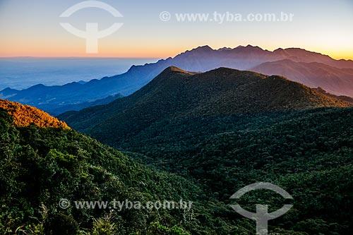 Vista geral durante a trilha do Morro do Couto no Parque Nacional de Itatiaia  - Itatiaia - Rio de Janeiro (RJ) - Brasil