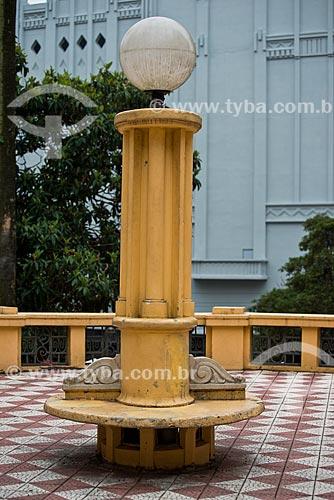 Poste na Praça Otávio Rocha  - Porto Alegre - Rio Grande do Sul (RS) - Brasil