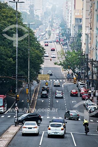 Vista geral da Avenida João Pessoa  - Porto Alegre - Rio Grande do Sul (RS) - Brasil