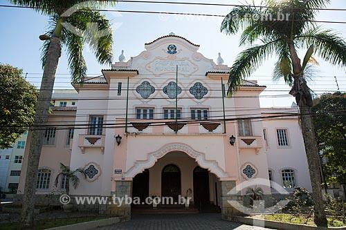 Fachada da sede da Prefeitura de Teresópolis - antigo Palácio Teresa Cristina  - Teresópolis - Rio de Janeiro (RJ) - Brasil
