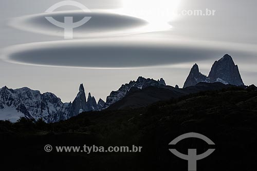 Monte Fitz Roy no Parque Nacional Los Glaciares  - El Chaltén - Província de Santa Cruz - Argentina