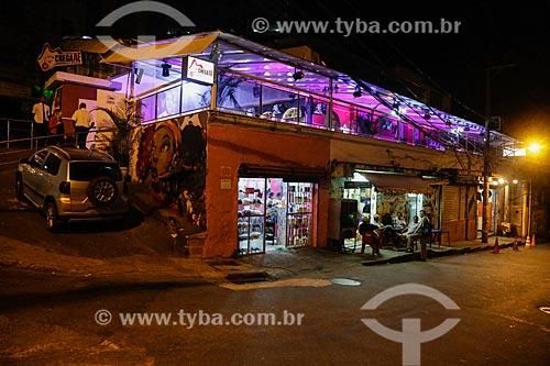 Bar Chega Aê na Favela do Vidigal  - Rio de Janeiro - Rio de Janeiro (RJ) - Brasil