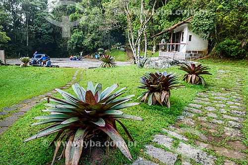 Início da trilha da Pedra do Sino no Parque Nacional da Serra dos Órgãos  - Teresópolis - Rio de Janeiro (RJ) - Brasil