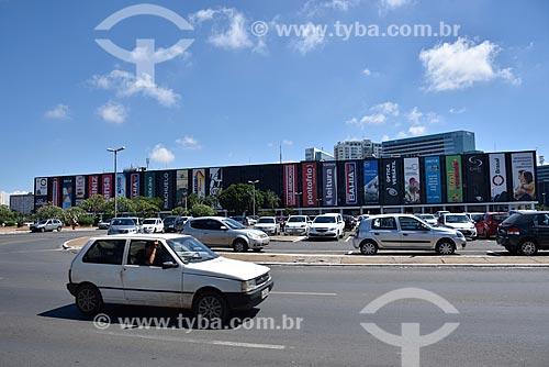 Fachada do Shopping Center Conjunto Nacional  - Brasília - Distrito Federal (DF) - Brasil