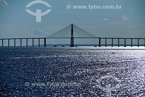 Vista geral da Ponte Rio Negro (2011)  - Manaus - Amazonas (AM) - Brasil