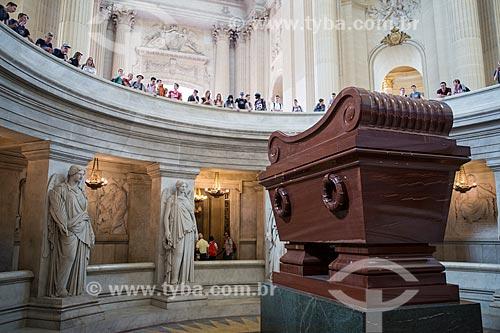 Túmulo de Napoleão Bonaparte de Catedral de Saint-Louis-des-Invalides  - Paris - Paris - França