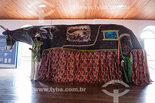 Bumba meu boi em exibição na Casa do Maranhão  - São Luís - Maranhão (MA) - Brasil