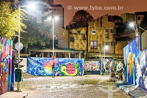 Grafites no Beco do Batman  - São Paulo - São Paulo (SP) - Brasil