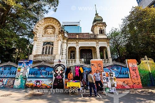 Palacete Franco de Mello (1905) na Avenida Paulista  - São Paulo - São Paulo (SP) - Brasil