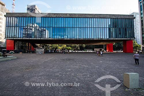 Fachada do Museu de Arte de São Paulo (MASP)  - São Paulo - São Paulo (SP) - Brasil