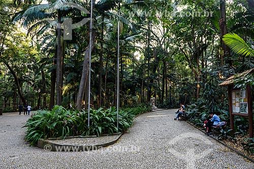 Parque Tenente Siqueira Campos - também conhecido como Parque Trianon  - São Paulo - São Paulo (SP) - Brasil