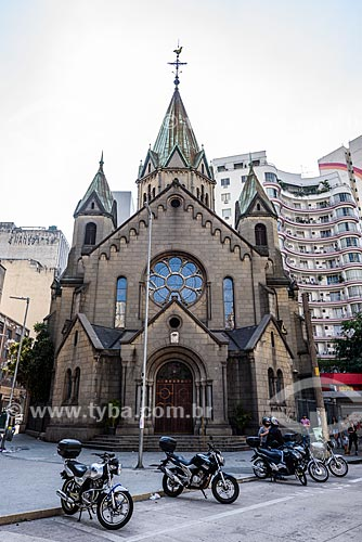 Fachada da Basílica de Nossa Senhora da Conceição e de Santa Ifigênia (1913)  - São Paulo - São Paulo (SP) - Brasil