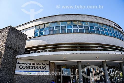 Fachada do Aeroporto de Congonhas (1936)  - São Paulo - São Paulo (SP) - Brasil