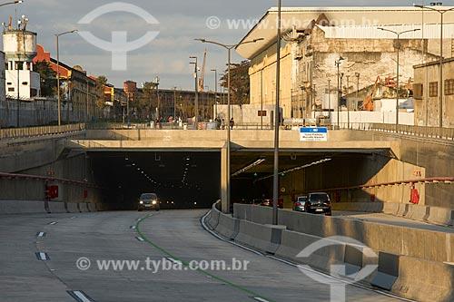 Saída do Túnel Prefeito Marcello Alencar  - Rio de Janeiro - Rio de Janeiro (RJ) - Brasil