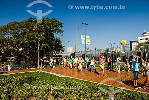 Turistas na Orla Prefeito Luiz Paulo Conde (2016)  - Rio de Janeiro - Rio de Janeiro (RJ) - Brasil