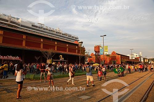 Avenida Rodrigues Alves durante os Jogos Olímpicos Rio 2016 - Boulevard Olímpico  - Rio de Janeiro - Rio de Janeiro (RJ) - Brasil