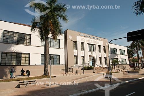 Biblioteca Municipal João Mesquita Valença  - Marília - São Paulo (SP) - Brasil