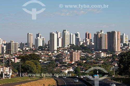 Vista da cidade  - Marília - São Paulo (SP) - Brasil
