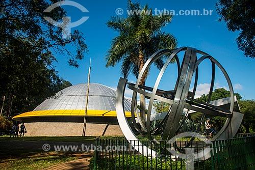 Planetário no Parque do Ibirapuera - Esfera Armilar Equatorial  - São Paulo - São Paulo (SP) - Brasil