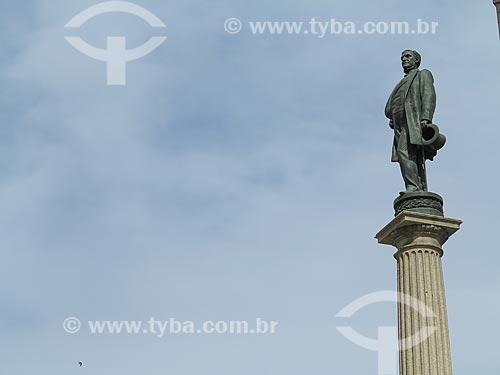 Estátua de Irineu Evangelista de Sousa, conhecido como Barão de Mauá   - Rio de Janeiro - Rio de Janeiro (RJ) - Brasil