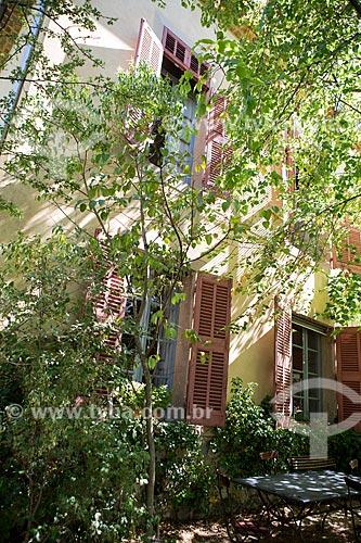 Fachada do atelier de Paul Cézanne  - Aix-en-Provence - Departamento de Alpes da Alta Provença - França