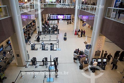 Hall do Aeroporto Santos Dumont  - Rio de Janeiro - Rio de Janeiro (RJ) - Brasil