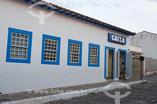 Agência da Caixa Econômica Federal na Rua Moretti Foggia  - Goiás - Goiás (GO) - Brasil
