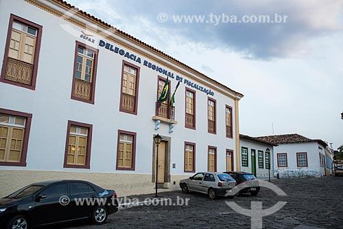 Prédio da Secretaria de Fazenda e Delegacia Regional de Fiscalização  - Goiás - Goiás (GO) - Brasil
