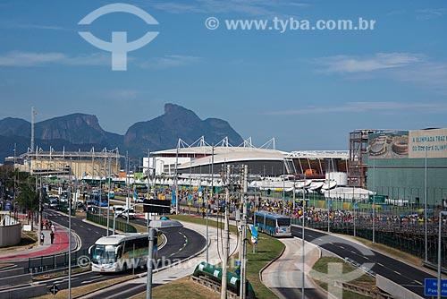 Público das Olimpíadas Rio 2016 chegando ao Parque Olímpico  - Rio de Janeiro - Rio de Janeiro (RJ) - Brasil