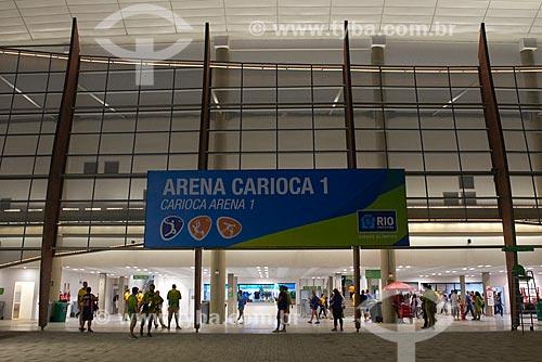 Público no Parque Olímpico Rio 2016 - Arena Carioca 1  - Rio de Janeiro - Rio de Janeiro (RJ) - Brasil