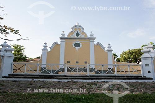 Detalhe do Chafariz de Cauda (1778) na Praça Doutor Brasil Caiado - também conhecida como Praça do Chafariz  - Goiás - Goiás (GO) - Brasil