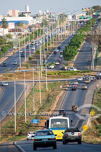Rotatória entre a Avenida Anhanguera e a Rodovia Jaime Câmara (GO-070)  - Goiânia - Goiás (GO) - Brasil