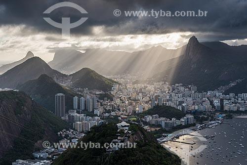 Vista da Enseada de Botafogo a partir do Morro da Urca  - Rio de Janeiro - Rio de Janeiro (RJ) - Brasil