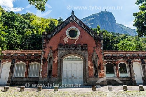 Fachada da cavalariça do Parque Henrique Lage - mais conhecido como Parque Lage  - Rio de Janeiro - Rio de Janeiro (RJ) - Brasil