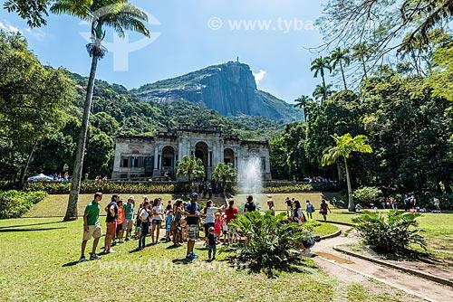 Jardins do Parque Henrique Lage - mais conhecido como Parque Lage  - Rio de Janeiro - Rio de Janeiro (RJ) - Brasil