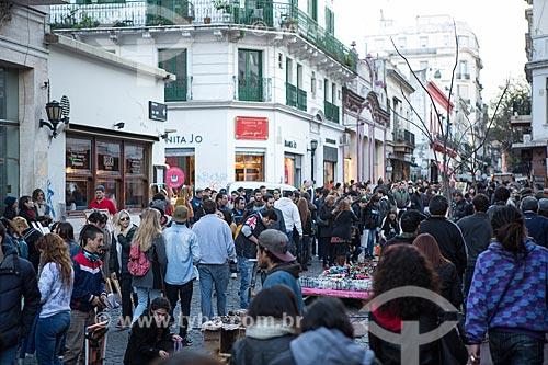 Feira de San Telmo - feira de artesanato que ocorre aos domingos  - Buenos Aires - Província de Buenos Aires - Argentina