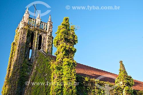 Vista da Catedral Anglicana do Redentor (1892) - também conhecida como Igreja Cabeluda  - Pelotas - Rio Grande do Sul (RS) - Brasil