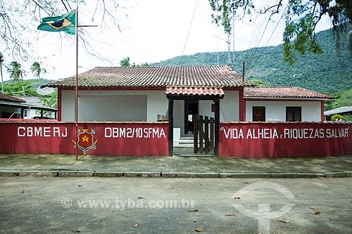 Quartel do Corpo de Bombeiros na Vila do Abraão  - Angra dos Reis - Rio de Janeiro (RJ) - Brasil