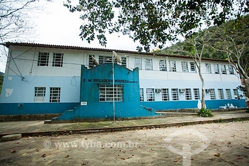 Escola Municipal Brigadeiro Nóbrega na Vila do Abraão  - Angra dos Reis - Rio de Janeiro (RJ) - Brasil