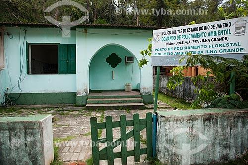 Comando de Policiamento Ambiental - Vila do Abraão  - Angra dos Reis - Rio de Janeiro (RJ) - Brasil