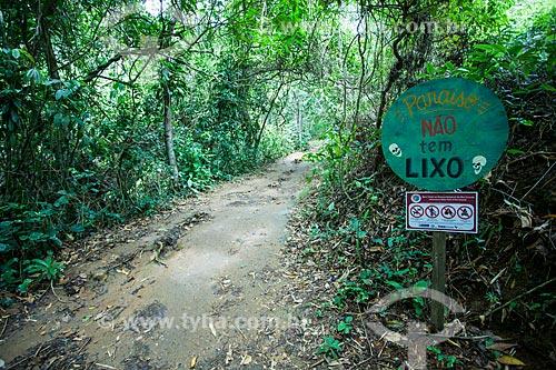 Ilha Grande - Trilha para a Praia de Lopes Mendes  - Angra dos Reis - Rio de Janeiro (RJ) - Brasil
