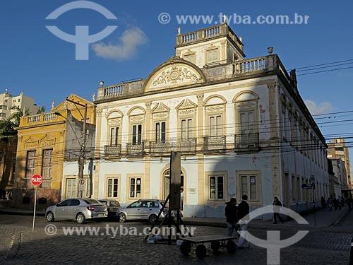 Fachada do Museu Adail Bento Costa (1830)  - Pelotas - Rio Grande do Sul (RS) - Brasil